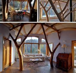 Home Interior Materials Tree Eco Aesthetic Style Home