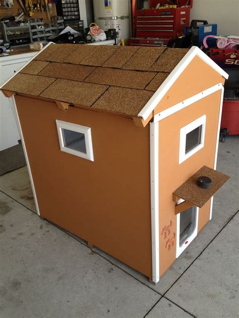 hinged roof dog house pin by rachel shryock on home decor pinterest