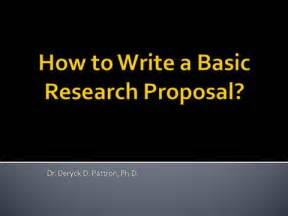 Scientific Writing And Communication Papers Proposals And Presentations Pdf How To Write A Basic Research Proposal Authorstream