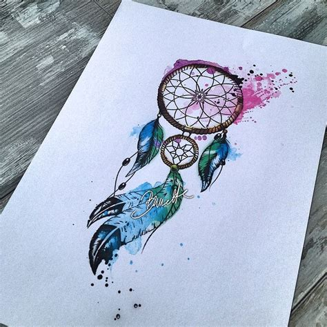 coloured dreamcatcher tattoo las 25 mejores ideas sobre atrapasue 241 os tattoo en