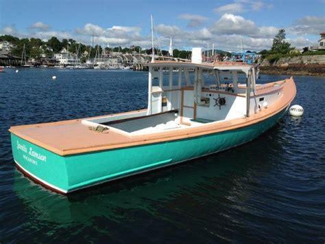 jonesport lobster boat power boat  sale www
