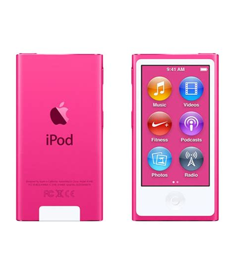 Best Buys Apple Ipod Nano And Chocolate Gift Set For Mothers Day by Buy Apple Ipod Nano 16gb 2015 Edition Pink At