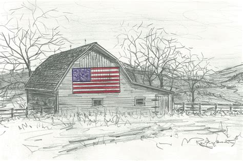 scheune zeichnen pencil sketches of barns drawings of barns note