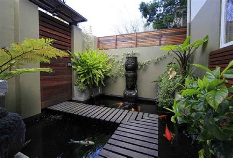 desain kolam ikan depan rumah minimalis desain kolam ikan rumah minimalis terbaru 2018