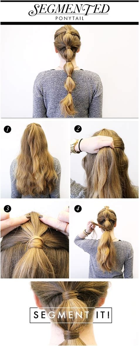 hairstyle ideas tutorial 15 cute and easy ponytail hairstyles tutorials popular