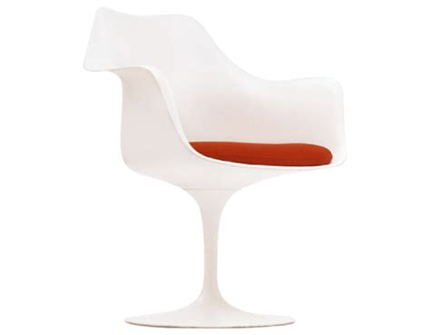 Tulip Armchair by Saarinen White Tulip Arm Chair Hivemodern
