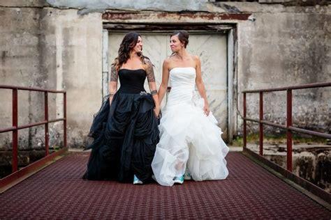 dark wedding dresses  brides   white