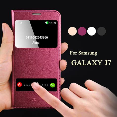 Flip Flip Cover Luxury Printing Samsung Galaxy J7 aliexpress buy kobee luxury coque for samsung galaxy j7 j700f j7 2016 j710 mobile