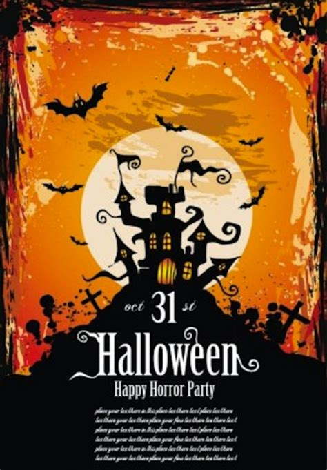 12 best free halloween flyer templates thedesignblitz