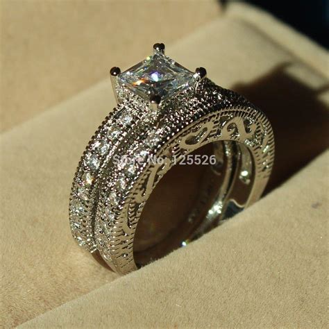 trilogy ring antique genuine vintage style