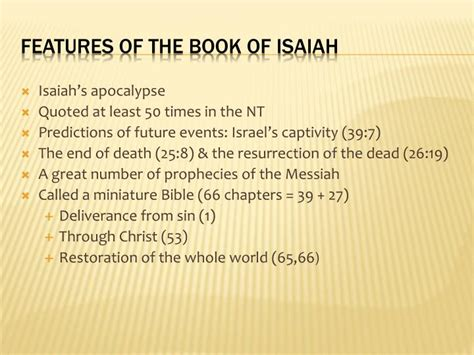 exle of whole numbers ppt the book of isaiah a mini bible powerpoint