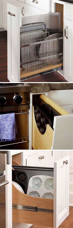 diy kitchen storage ideas 2018 15 easy diy ideas to organize your kitchen cabinets 2017