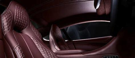 car upholstery designs aston martin s vanquish hourglass stitch