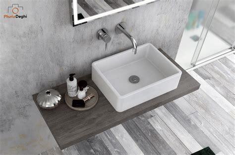 mensole per lavabi d appoggio mensola per lavabi d appoggio arredo bagno sospeso da 90