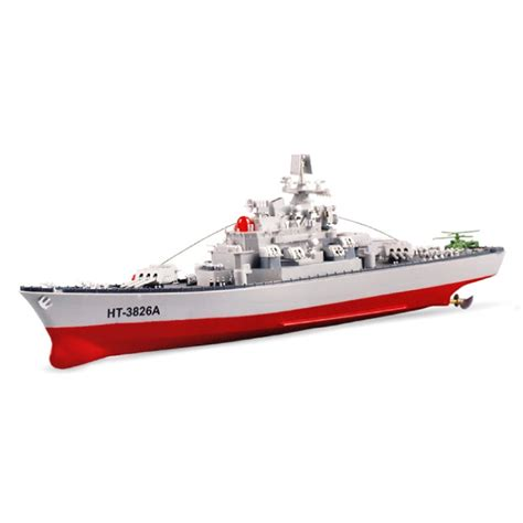 rc military boats ht3826a remote control battleship model toy rc boat