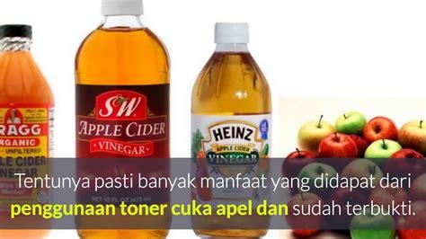 Biofitto Cuka Apel 3 manfaat cuka apel untuk wajah bebas jerawat noda