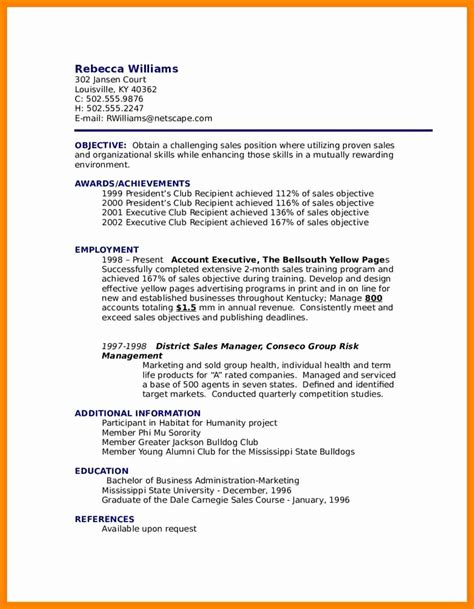show me a resume format 28 images exles of resumes