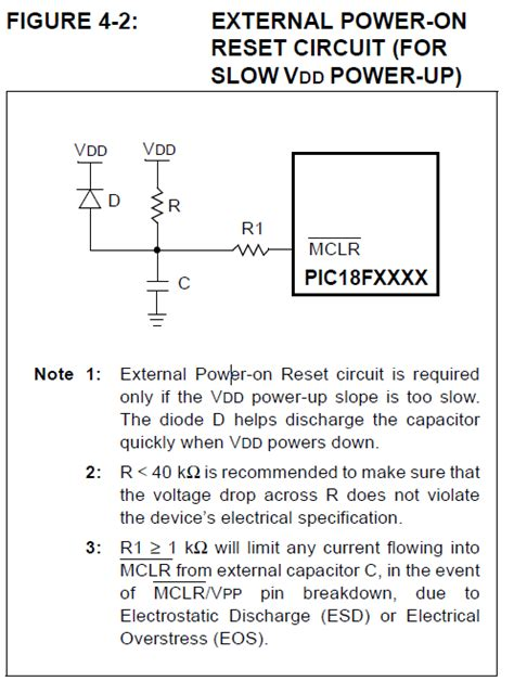 capacitor circuit problems solved pic16f877a mclr circuit problem capacitance