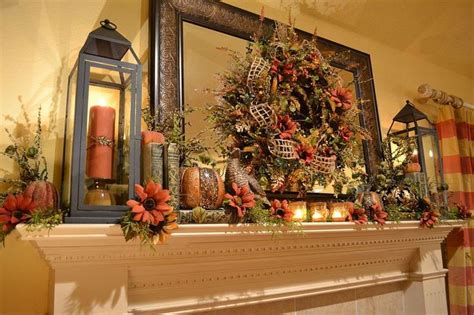 fall mantel decorating ideas 39 beautiful fall mantel d 233 cor ideas digsdigs