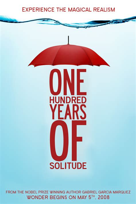 one hundred years of b00hvpsxns one hundred years of solitude poster on behance