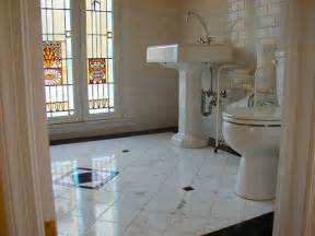 Home Decor Tiles by Custom Cut Marble Bathroom Floor