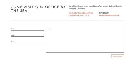 design milk contact 20 highly creative contact form designs for inspiration