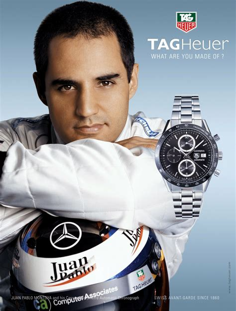 Tag Heuer Schumaker 1 tag heuer advertising the home of tag heuer collectors