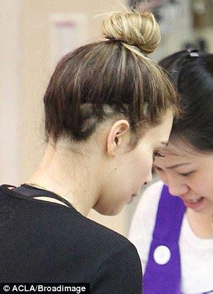 kim kardashian displays shocking hair loss after relying