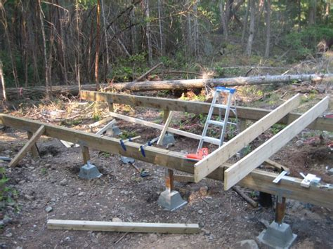 How To Build A Cabin Foundation by Foundation Options For Small Cabin Studio Design