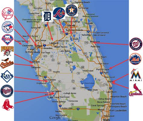 grapefruit league map in the middle braves mulling departure from disney
