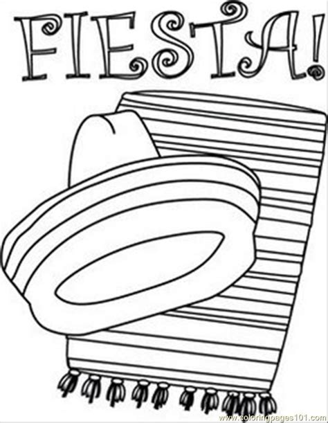 fiesta coloring pages free printable mexican fiesta coloring pages coloring home