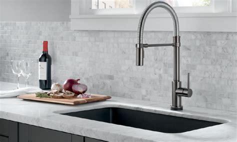 delta touch20 kitchen faucet delta faucet s trinsic pro pro remodeler