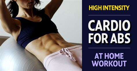 high intensity abs and cardio workout for vitality