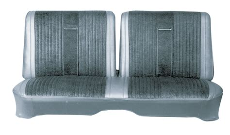 split bench seat cover 1966 74 a b e body front split bench seat cover