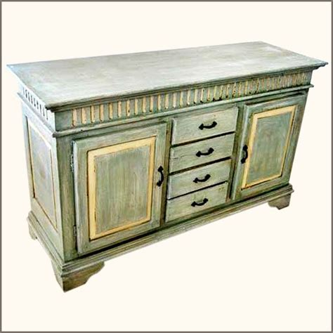 Farmhouse Sideboards oklahoma farmhouse painted sideboard buffet with wrought iron hardware new