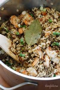 Brown Rice with Shrimp