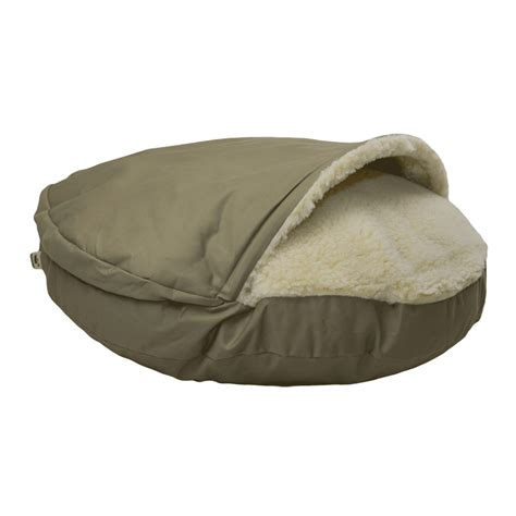snoozer dog beds snoozer cozy cave 174 dog bed 12 colors fabrics 3 sizes