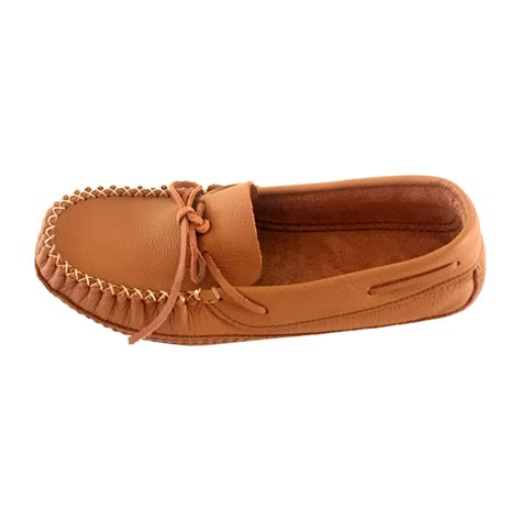 mens wide moccasin slippers s genuine leather wide fit soft sole authentic