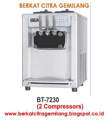 Soft Machine Gea Bdb 7116 Mesin Es Krim 1 Tuas berkat citra gemilang soft machine 1 flavour cream3 flavour mesin