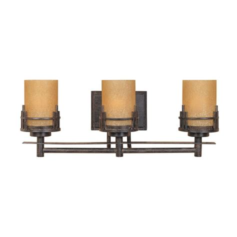 Wall Mounted Vanity Lights by Designers Mission Collection 3 Light Warm