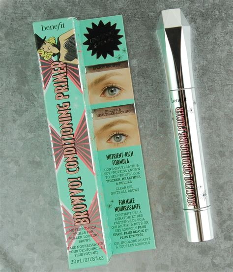 Benefit Browvo Brow Conditioning Primer the new benefit cosmetics brow collection swatches review