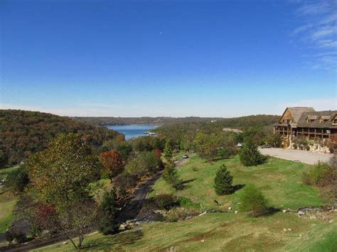 awesome view from falls lodge across table rock lake