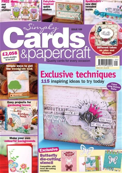 Simply Cards And Papercrafts - simply cards papercraft abonnement abonnere p 229 simply