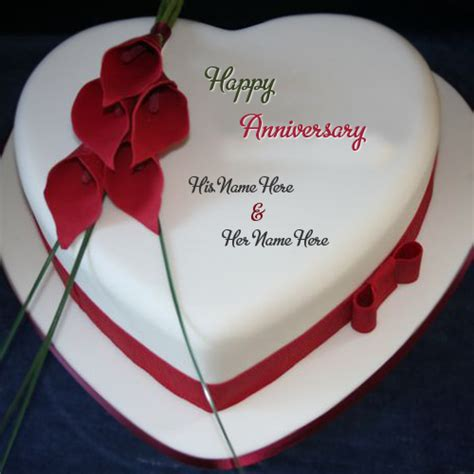 Wedding Anniversary Wishes With Cake by Flower Design Anniversary Wishes Cake Name Pictures