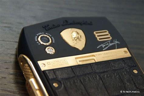 Lamborghini Luxury Phone Tonino Lamborghini Launches Luxury Phones For Low Spec