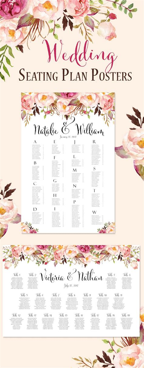 seating arrangements for wedding best 25 reception seating chart ideas on