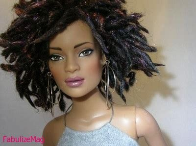 black doll with dreads black supreme barbies you wished you had