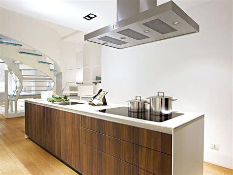 Dark Kitchen Island b3 cucina in legno by bulthaup