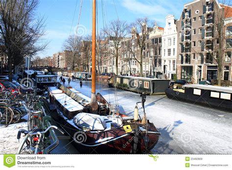 fotos holanda invierno invierno en amsterdam pintoresca holanda imagen de