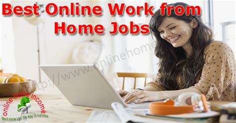 Working From Home Online - best online work from home jobs to supplement your income